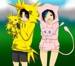 Zapdos and Mew RPC by katze-des-grauens