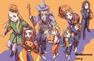 Halloween 2014, The Fellowship of the Ring by sena1923