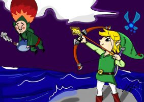 The Legend of Zelda the Windwaker by Jerome2812