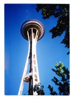 Space Needle by 6mylw