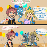 FT-Happy Birthday Lucy! by Kilala04