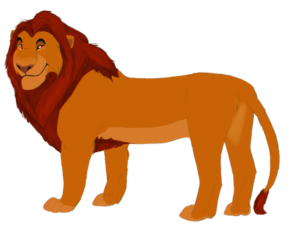 Mufasa by coolrat