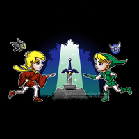 Master Sword in the Stone Shirt Design by SingapuraStudio