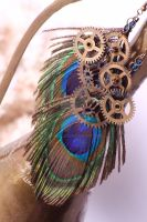 peacock in the factory by paakallo