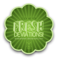 Fresh Deviations Button by shanahben