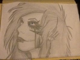 Andy Biersack drawing from 3 years ago by Captain-Purdy
