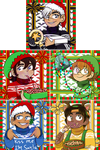 Voltron Christmas Icons by DCDr34m3r