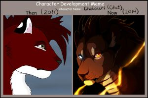 evolution of Chet by CHETAURI