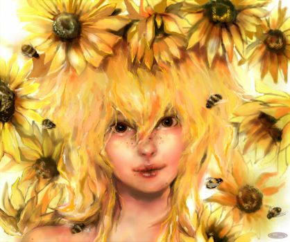 Sunflower by DZIU09