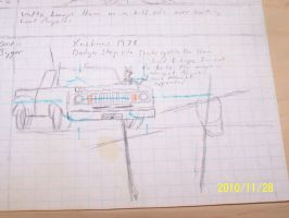 Auto sketches Dodge Ram by coonk9