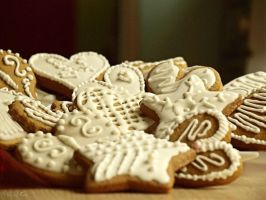 33 - Christmas gingerbread cookies... by AnnaMagdalenaPe