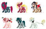 Breed with these bbys! .::OPEN::. by Colliwooble