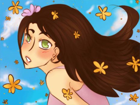 They Re Blooming by Ladyalucard1
