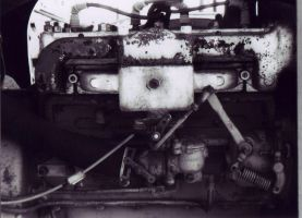 tractor engine by K-111