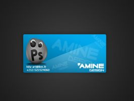 My Business Card by Amined3sign