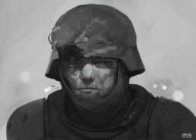 Soldier by ProxyGreen