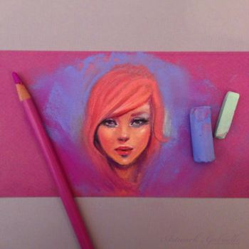 Pastel Painting by gabbyd70