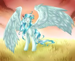 MLP: FiM Graceful Snow by dream--chan