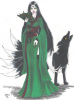 Courtier Kitsune by Levii