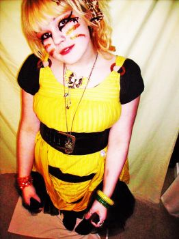 queen bee ugly bug ball by RaychelMay
