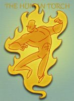 Human Torch by tyrannus