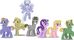 Starlight Glimmer and the town ponies by Vector-Brony