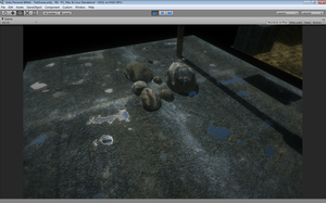 Unity 5 textures Asphalt with puddles, real-time by KyleConway727