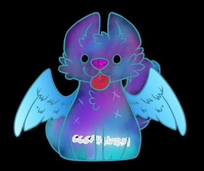Galaxy ghostly adopt *closed* by Frozentinktheartisty