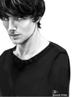 -Colin Morgan- by obsceneblue