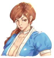 Kasumi - Dead or Alive by Mick-cortes