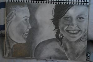 Megan and Katie by jadey-babey