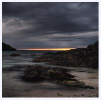 Achmelvich Bay: Sunset by Project-Firefly