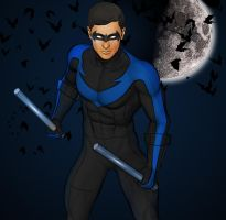 Nightwing by Krevan-Falco