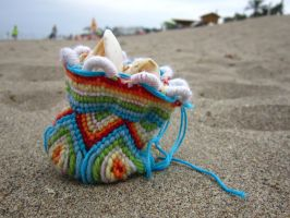 Beach Bag by Chrissijulius