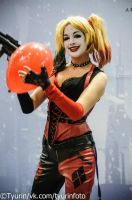 Arkham City girl by YokoOmi