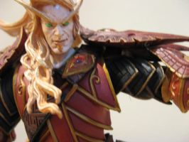 Blood Elf Male Face and Armor by draenei-friend