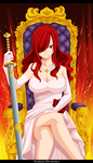 The Queen of Fairy Tail by strabixio