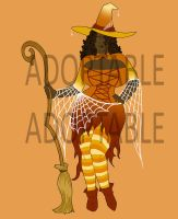 Halloween Adopt: Angela- SOLD by theJiggly