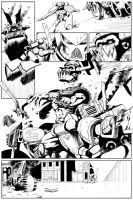 The Duel - inks 4 by shaungardiner