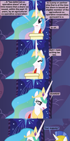 Celestia On Break by Beavernator