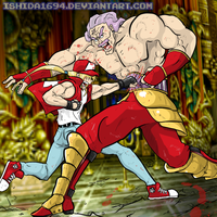 TERRY vs KRAUSER by Ishida1694