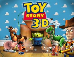 TOY STORY 3D by chart1989