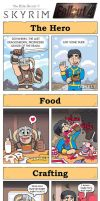 DORKLY: Skyrim vs Fallout by GeorgeRottkamp