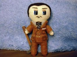 Plushie Andrew Ryan by Pinka-Starlight
