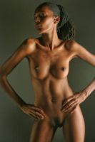 Nude study 6 by Pixelles