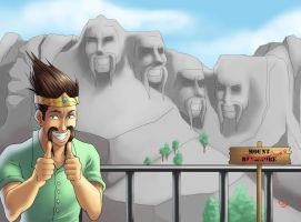 Draven everywhere by ParSujera