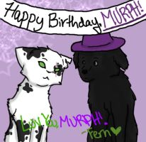 Happy Birthday Murph :'3 by iFerneh