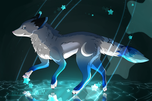 .: Sur Ma Route :. (Birthday Gift + Speed Paint) by SweetElectricity