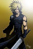 Cloud Strife by EnygmatycNinja