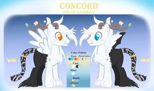 Concord God of Harmony Reference Sheet by Galaxy-trax